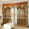 Custom made modern italian design black and white striped curtains