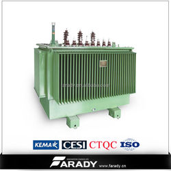 3 phase oil immersed transformer output voltage 200 kva transformer