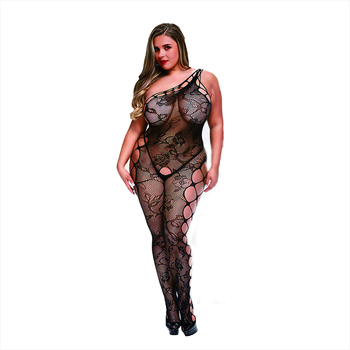 China manufacturer custom new style women fishnet sexy sheer mesh nylon bodystocking