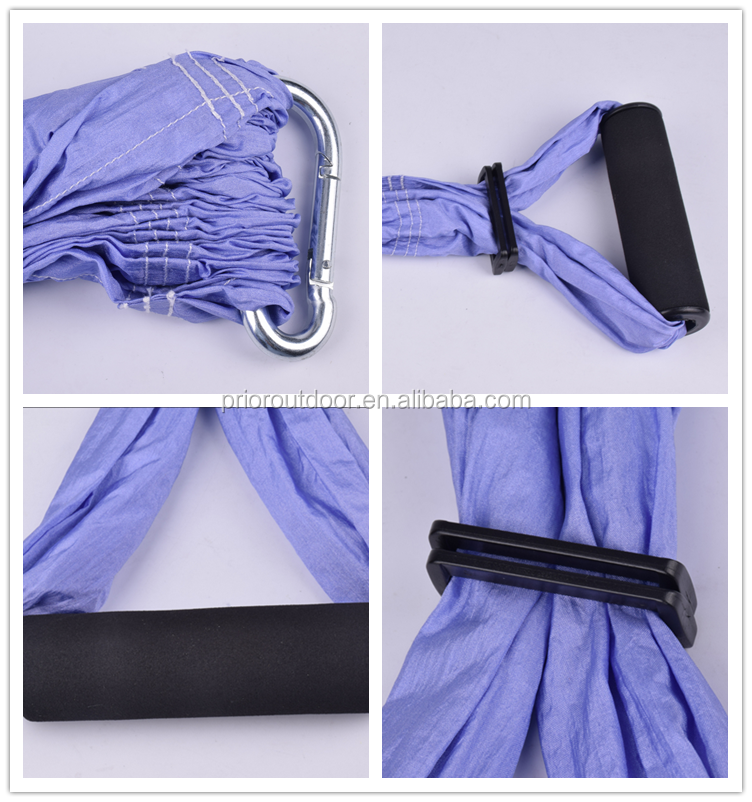 Professional Supplier for Trapeze Yoga Swing Aerial Yoga Hammock/Sling/Inversion Tool with Hardware & 2 Daisy Chains