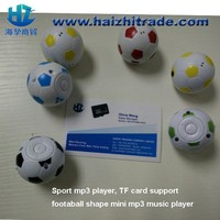 factory price New Arrival Portable sport football music mp3 digital mp3 player