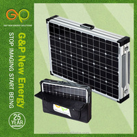 120w 12v solar battery charger camping portable solar folding panel