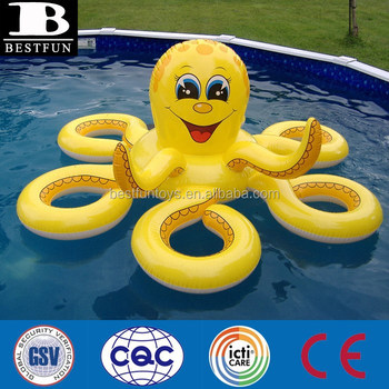 Outdoor Giant Inflatable Octopus Water Toys For Pool Jumbo Inflatable  Publicity