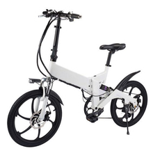 "2018 14""/20""Aluminum Foldable electric Bicycle 48V 10A Lithium Battery 250W Electric bike ebike"