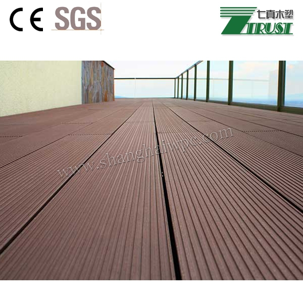 Green materials non toxic wpc outdoor decking buy for Non wood decking material