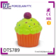 Cheap cake shaped ceramic money bank,Cup Cake coin bank