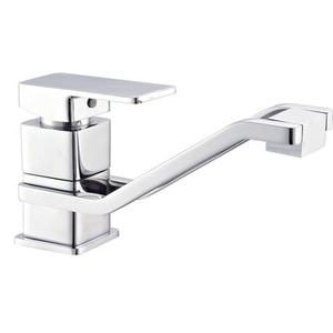 High Quality Single Lever Brass Chrome Tuscany Kitchen Faucet