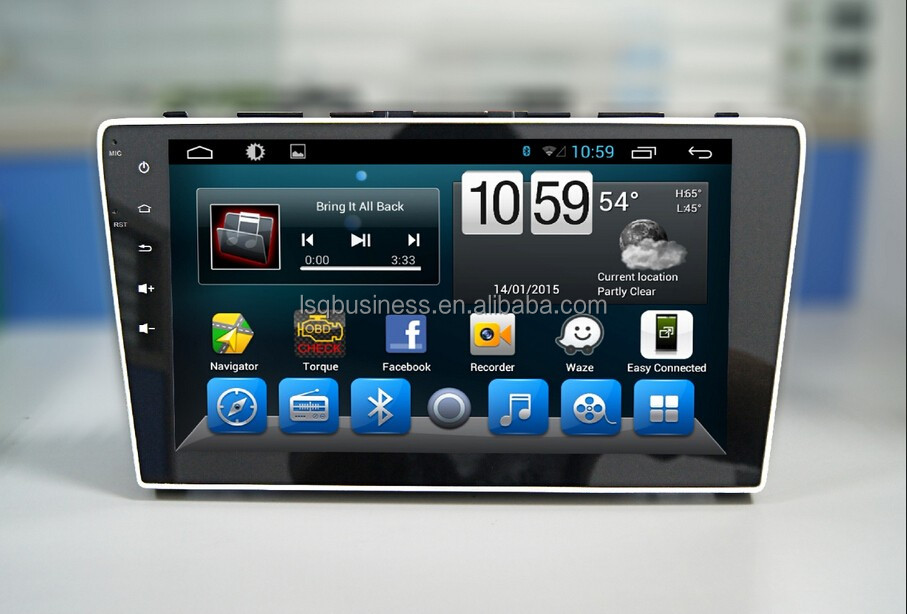 Quad Core 1024*600 Android 4.4.2/ 6.0 car dvd radio GPS navigition stereo for 2009 CRV hot selling !!!