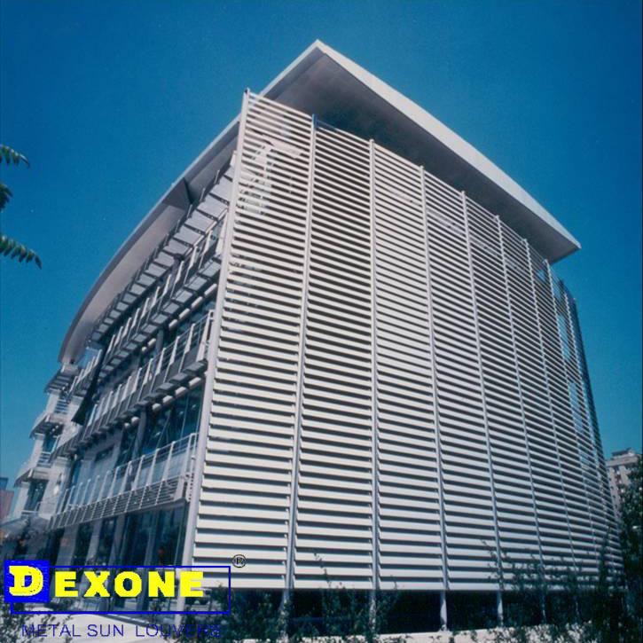 Sun Shade Aluminium Rectangle Louver For Construction
