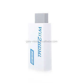 Hd Converter Converting Wii Video/audio To Hdmi 1080p On Hdtv/monitor - Buy  Wii To Hdmi Converter,Wii To Hdmi 720p/1080p Converter,1080p Wii To Hdmi