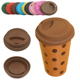 eco straw lid reusable coffee china cup to go bone water bottle , dot design chocolate custom oem cups decal tumbler for bar
