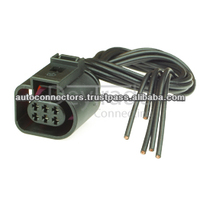 1j0973713 - 6 Way Sealed Female Connector 1.5 Mm,2-row,Coding I ...