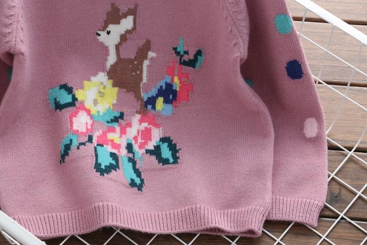 Fábrica de géneros CHIL niños pequeños patrones cervatillo suéter ...