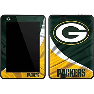 NFL Green Bay Packers Kindle Fire HD 7 Skin - Green Bay Packers Vinyl Decal Skin For Your Kindle Fire HD 7
