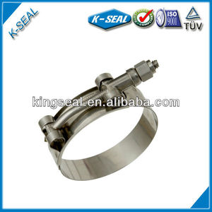 Stainless Steel T-Bolt Leak Free Clamp KTB337SS