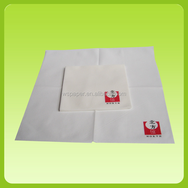 Guest use custom printed napkin paper napkin tissue