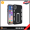 Best products 2017 wholesale dotted tpu hard pc case cover for iphone X phone ring kickstand