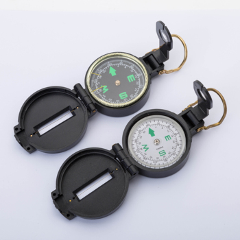 American military lensatic army compass easily folding for outdoor adventure