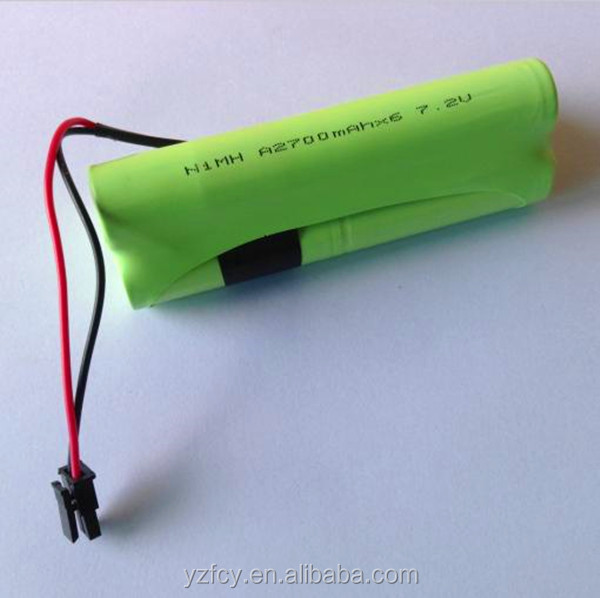 Hot sale 2700mah aa nimh rechargeable battery