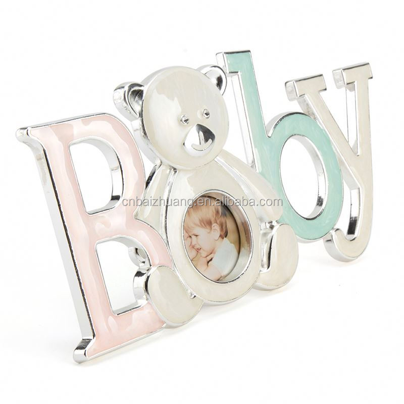 6 inch metal rolling magazine photo frame