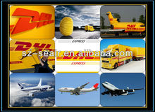 Hongkong professional DHL agent from Shanghai to Worldwide