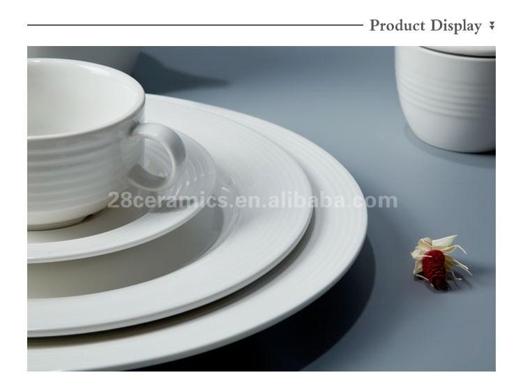 brilliant high end restaurant and hotel crockery tableware ceramic plate dinnerware set white porcelain weeding  sc 1 st  Alibaba & Brilliant High End Restaurant And Hotel Crockery Tableware Ceramic ...