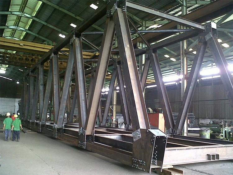 Small Portable Bridges : High quality multiple types portable steel structure
