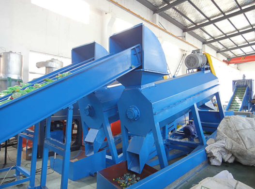 Vlokken Recycling LDPE PE LLDPE Film Recycling Machine