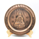 New design Chinese style diecast copper buddha award plate for souvenir custom