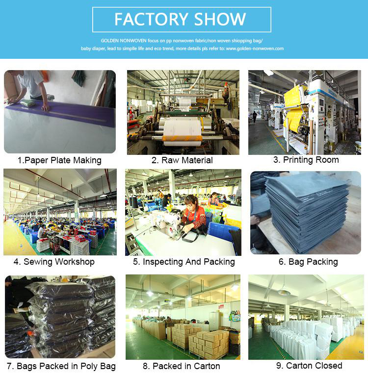 New Coming Non-Woven Material And Handled Style Laminated Non Woven Bag Supplier In China
