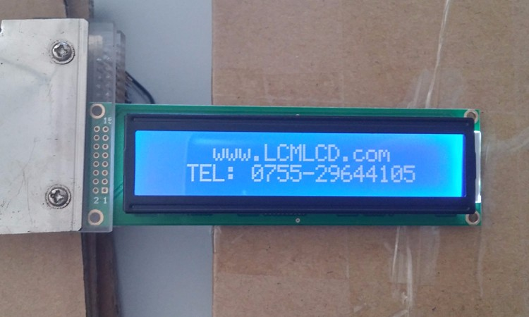 New cheap Industrial 24x2 lcd character dots serial I2C screen AIP31066controller 24*2 lcd display