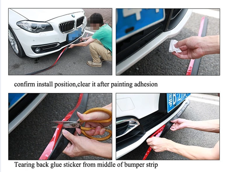 Guangzhou JDM Bumper Side Lip Skirt Car Bumper Lip Skirt