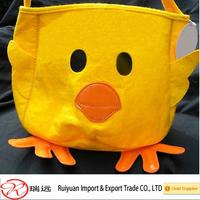 2017 Unique Design Best Quality Practical Felt Easter Basket