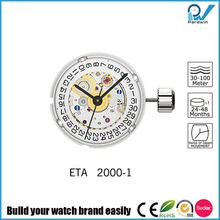 Sub-dials Watches Automatic ETA mechanical Movement 2000-1 Date Calendar 20 Jewels