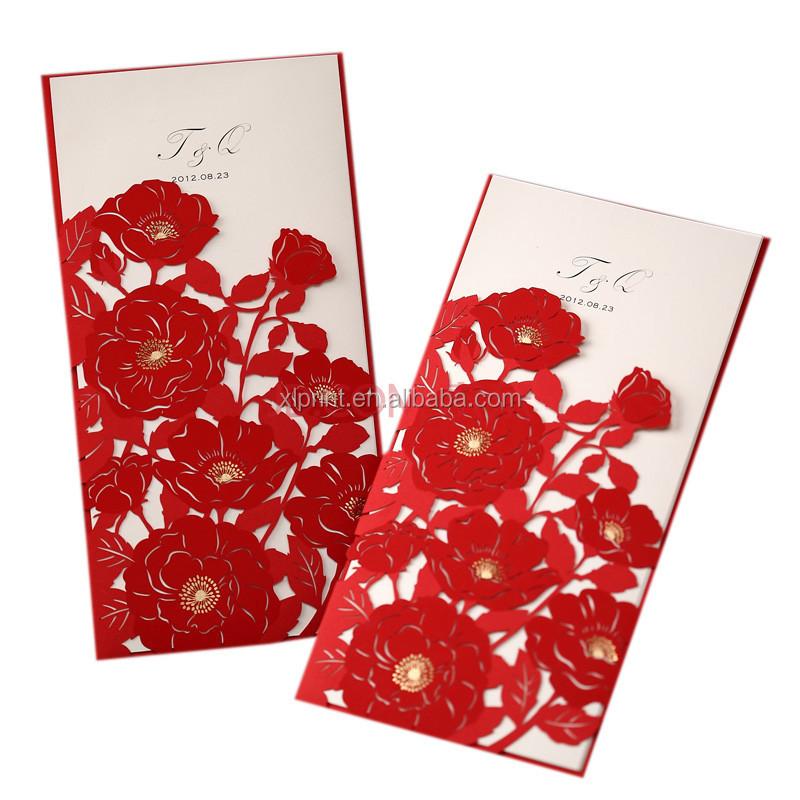 Laser Cut Handmade 3d Wedding Invitation Card - Buy Laser Cut ...