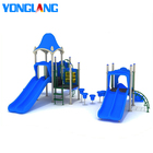 Outdoor Items Park Design Kids Hot Sale New Design Blue Theme Outdoor Play Equipment Kids Play Ground Items Exercise Play Park Games