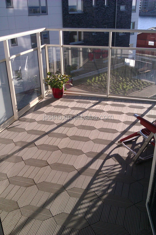 Germany Standard Outdoor Interlocking Plastic Floor Tiles Wooden Floor Tiles Bathroom Floor Tiles
