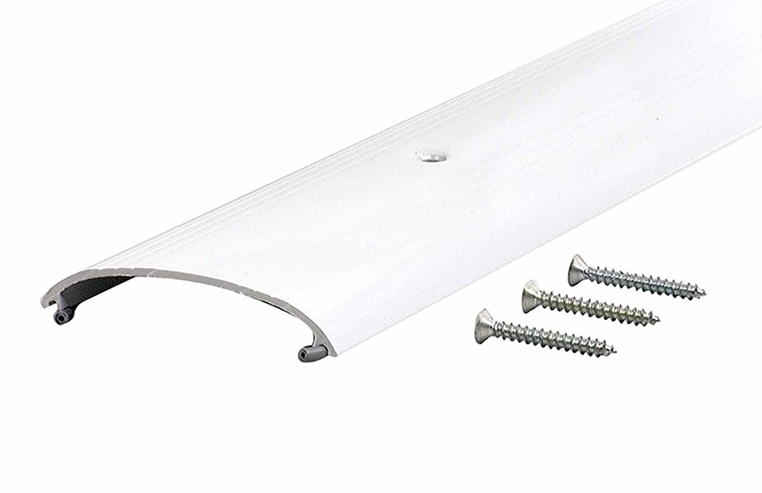 M-D Building Products 81828 1-Inch by 4-Inch by 36-Inch TH009 High Dome Top Threshold, White