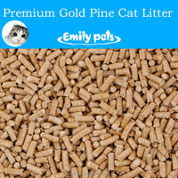 Hot Sale Pet Products Pine Wood Free Sample Thick Cat Sand