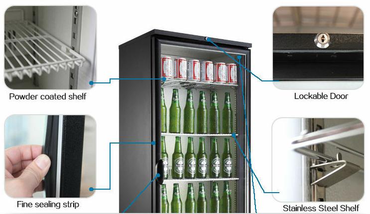 Mini Kühlschrank Mit Schloss : Glas tür getränk display kühlschrank monster energy mini kühlschrank
