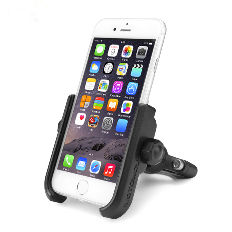 Metal Aluminum alloy motorcycle bike mobile cell phone holder super strong for 4-7 inch phone