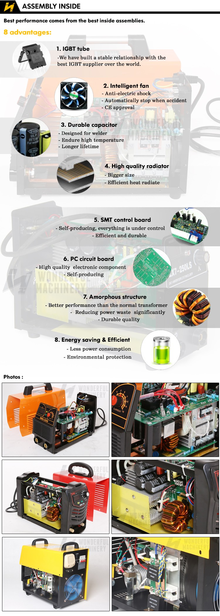 Electric mma inverter mini micro three phase single phase portable arc  welding machine, View arc welding machine, Wonderful Product Details from