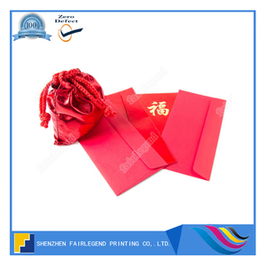 Wallet Red Envelop Printing Service With Packet
