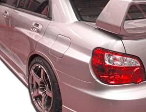 2006-2007 Subaru Impreza WRX STI 4DR Duraflex GT500 Wide Body Rear Fender Flares - 3 Piece