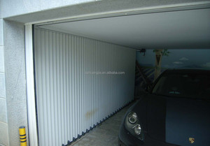 Residential Motorized Aluminum Side Rolling Garage Door