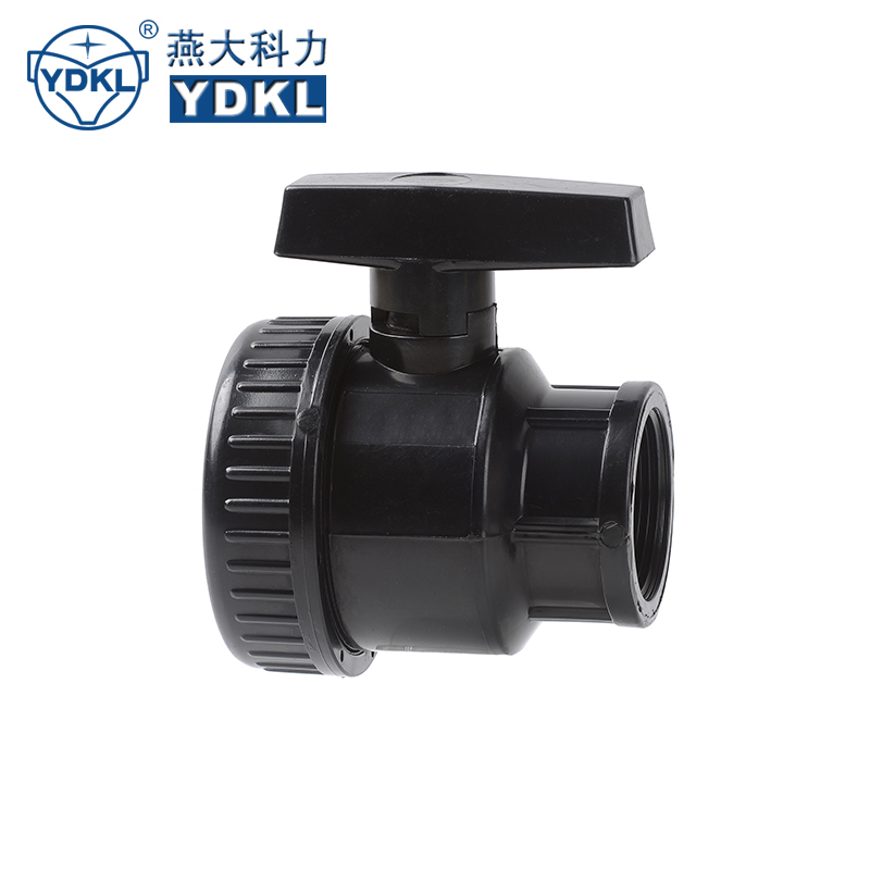 50Mm High Pressure Pvc Ball Valve With C Type Retainer