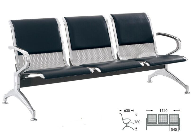 3 Seat Public Waiting Chair 3 Seater Waiting Bench Seating