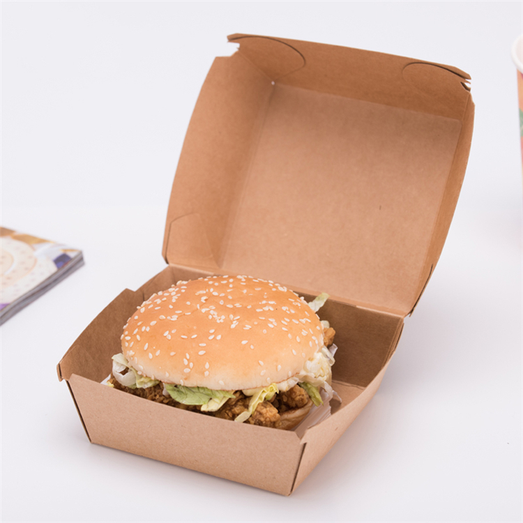 Kraft scatole Cinese take out mini burger