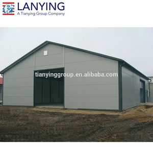 iso & ce certificated prefabricated steel structure cow farm house shed