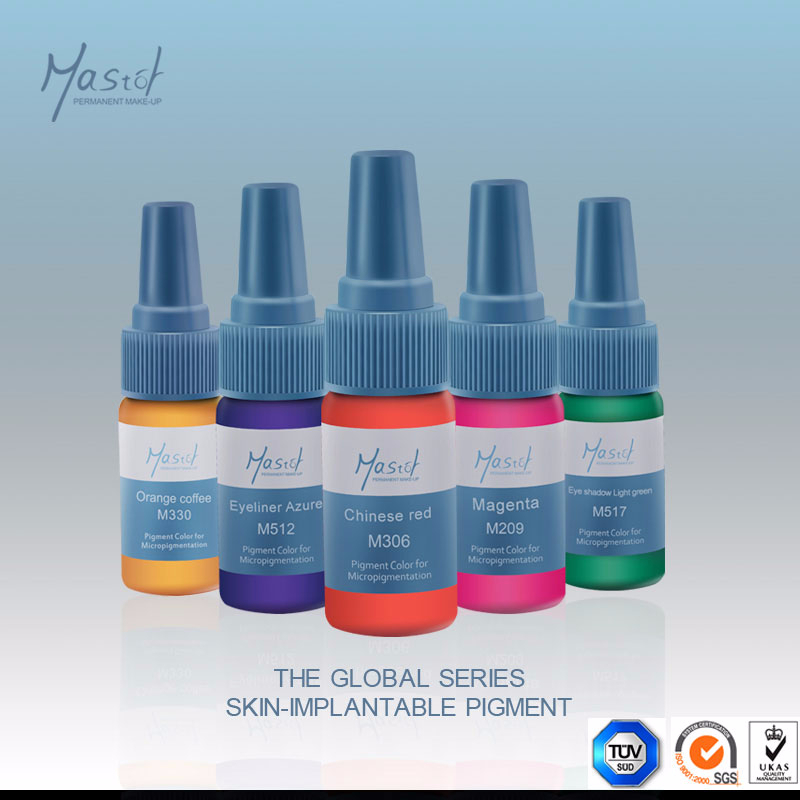 Mastor Tattoo Ink for Permanent Makeup Micropigment